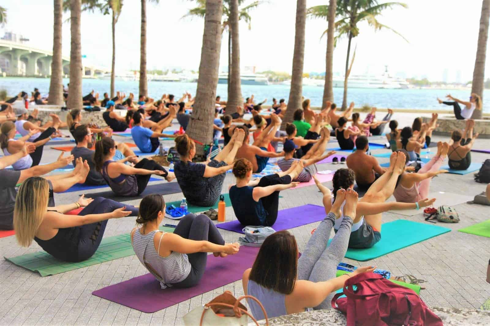 Free Yoga - Downtown Miami